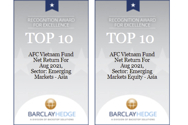 AFC wins awards from BarclayHedge